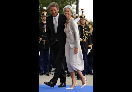 French Economy minister Christine Lagard